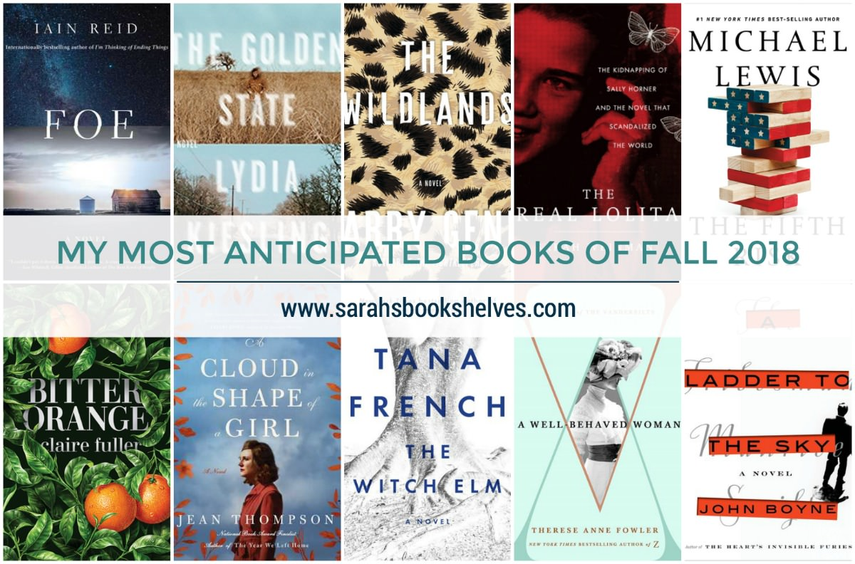 Most Anticipated Books of Fall 2018