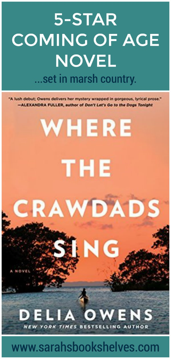 Where the Crawdads Sing is a 5-star, unputdownable book! Definitely add this coming of age story set in the North Carolina marsh country to your summer reading list! #reading #books #bookish #bookworm #booklover #bookstagram #summerreading