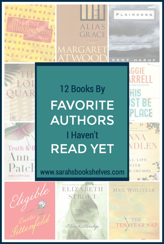 Books By Favorite Authors I Haven't Read