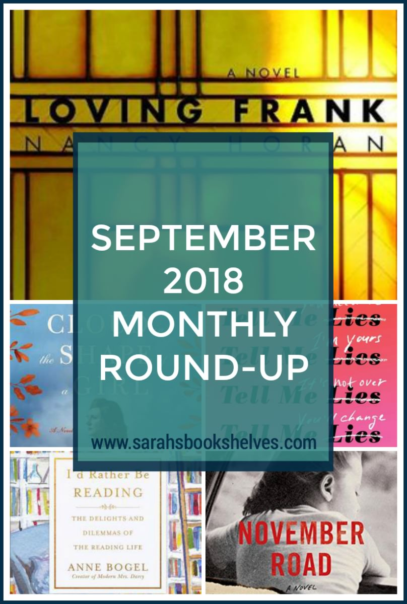 September 2018 Monthly Round-Up