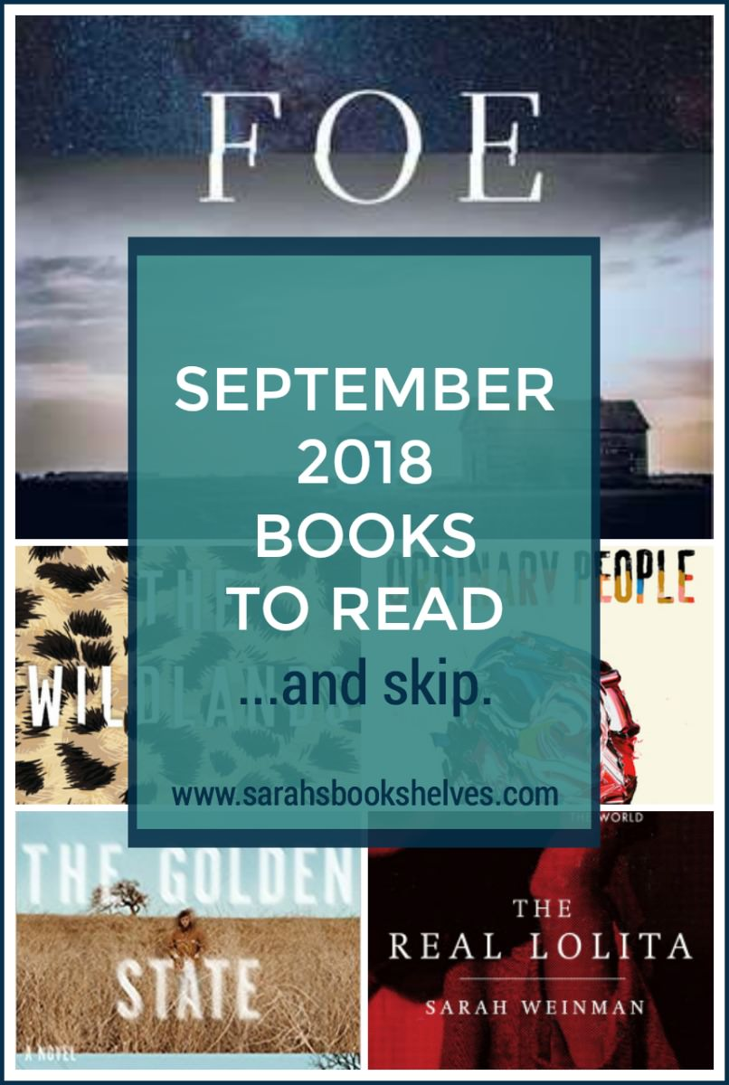 September 2018 Books to Read: September was an up and down month. I've got two great books to read and three others I didn't make it far in. #reading #books #bookish #bookworm #booklover #bookstagram