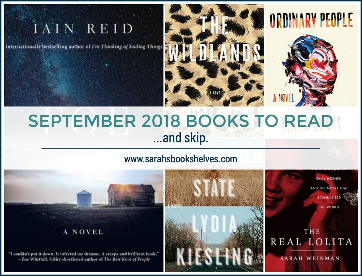 September 2018 Books to Read