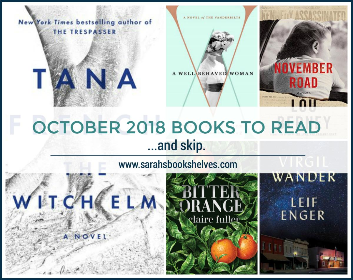 October 2018 Books to Read