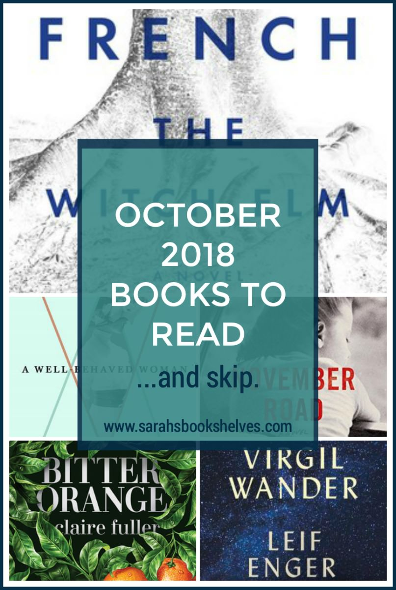 October 2018 Books to Read: October was a great reading month! I've got 2 great books to add to your October reading list and one more coming in a separate review. #reading #books #bookish #bookworm #booklover #bookstagram