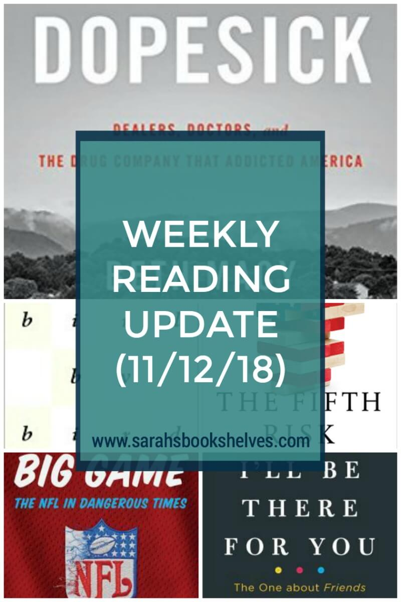 What I'm Reading Now (11/12/18): My Nonfiction November reading is on fire...so, I've got some great books to read! #reading #books #bookish #bookworm #booklover #bookstagram #currentlyreading #nonfiction