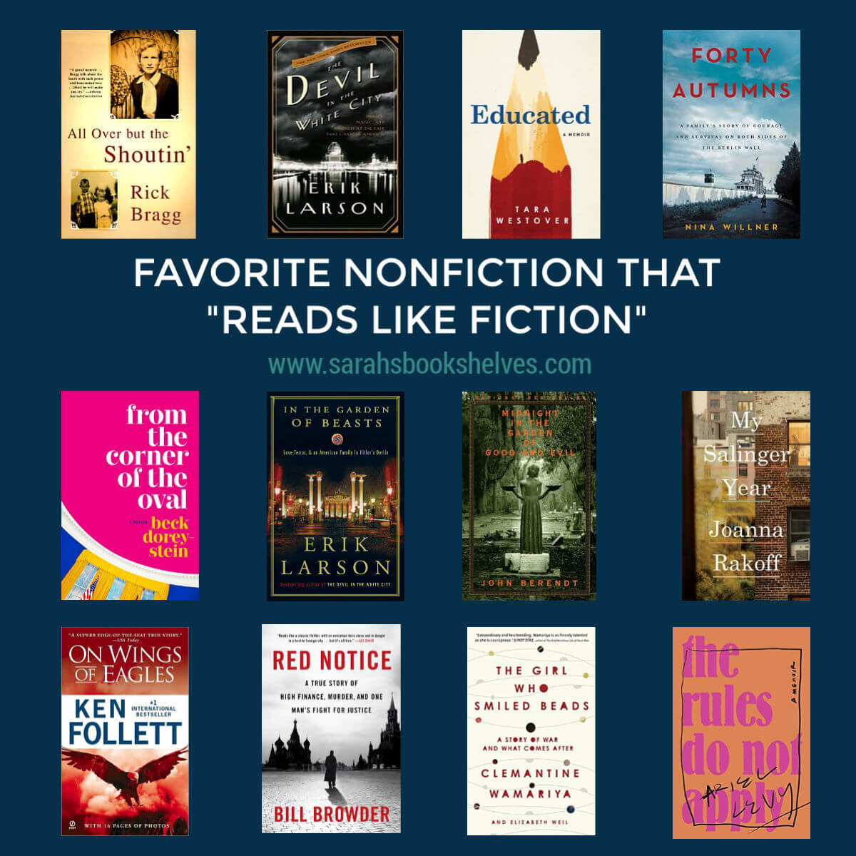 Nonfiction That Reads Like Fiction