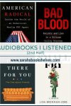 Best Audiobooks I listened to in 2018