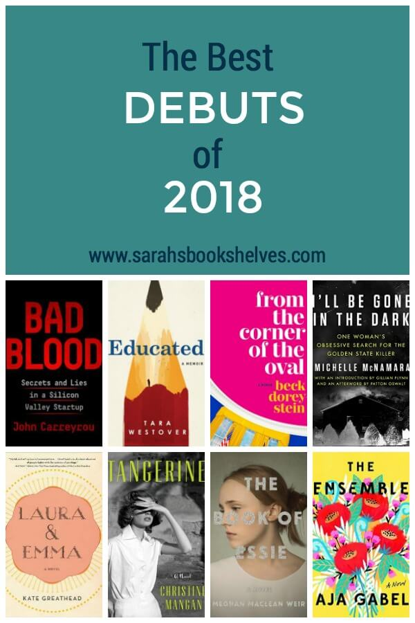 My Best Debuts of 2018: I love discovering new authors and these debuts are definitely work adding to your reading list! #reading #book #bookish #bookworms #booklovers #booklist #bestbooksof2018