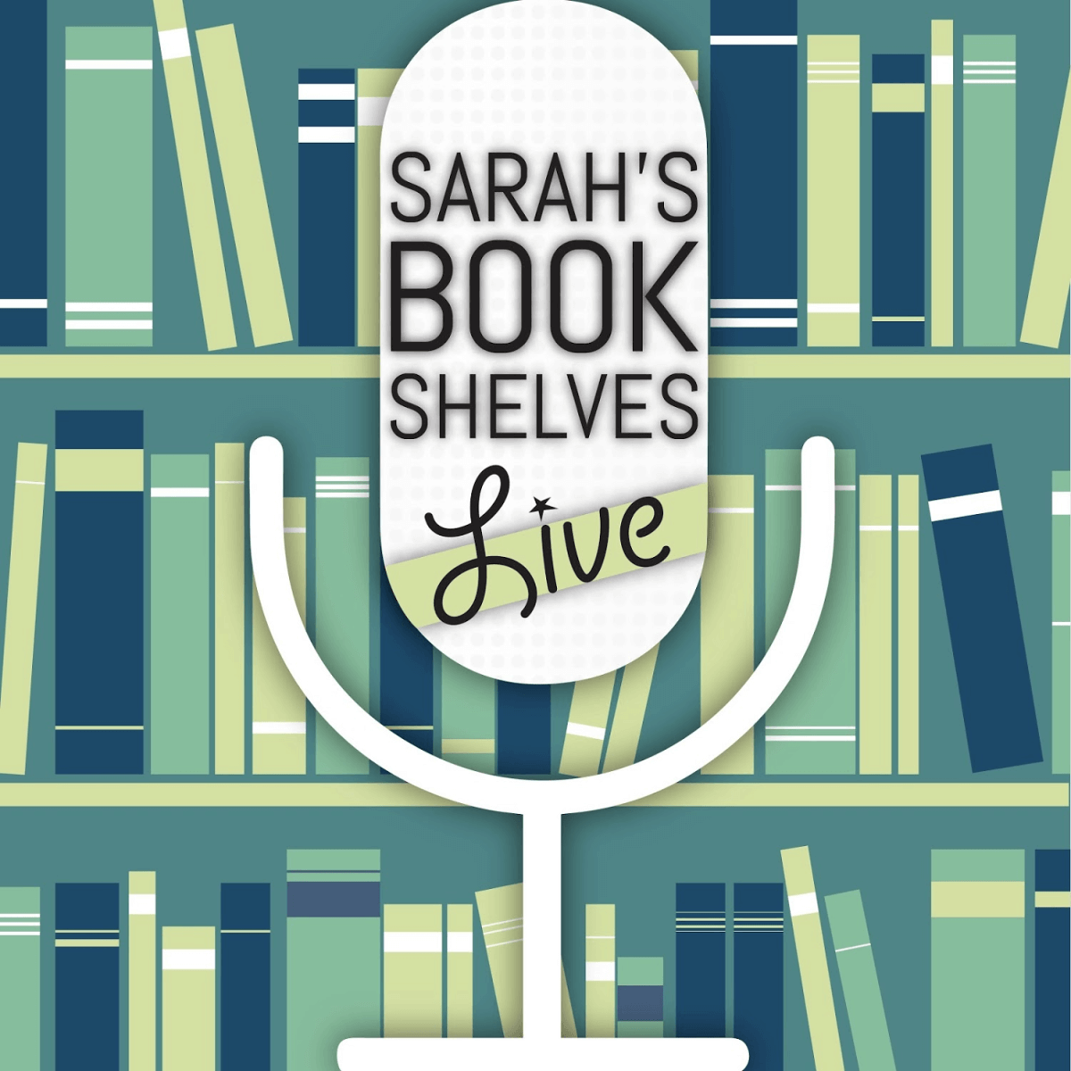 Sarah's Book Shelves Live