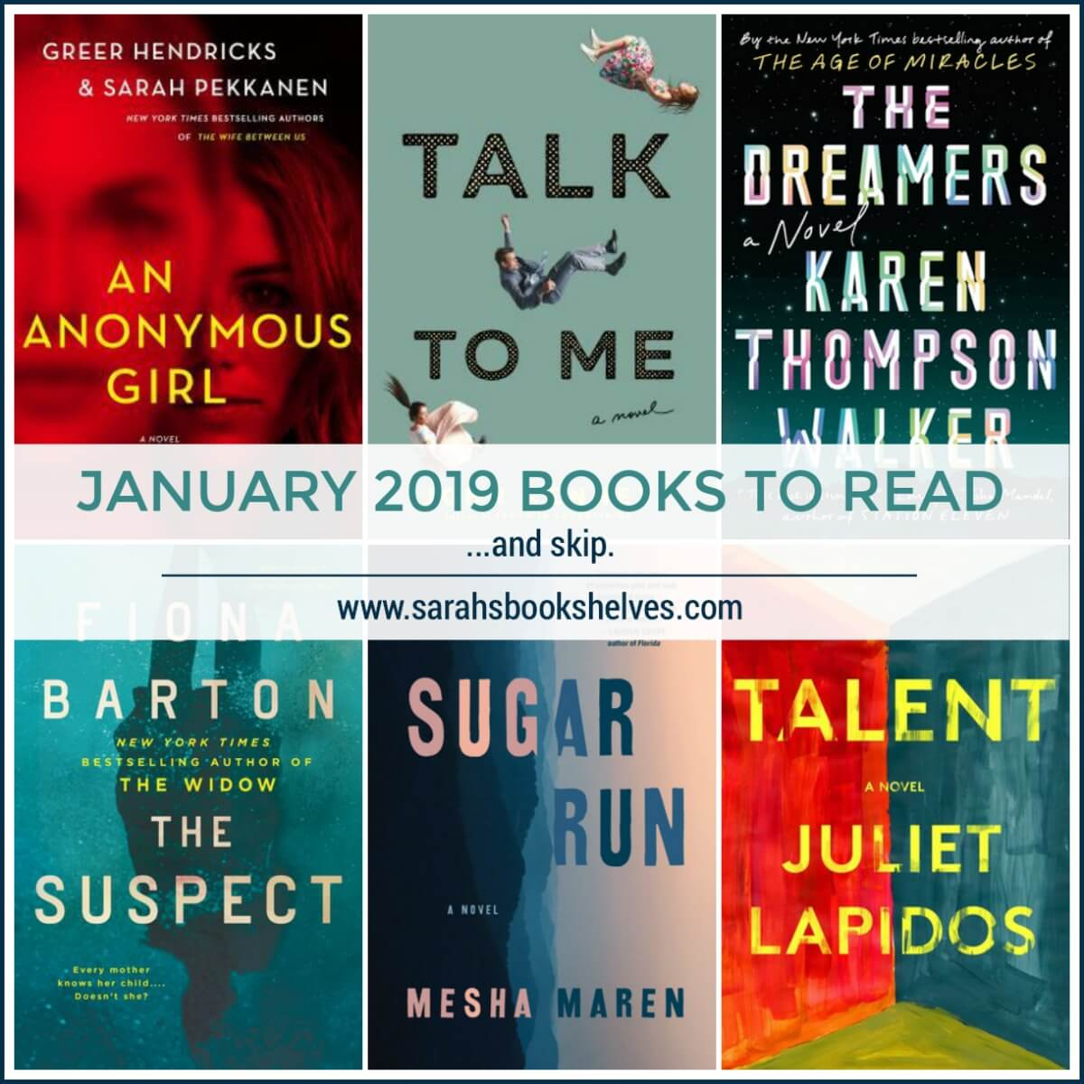 January 2019 Books to Read