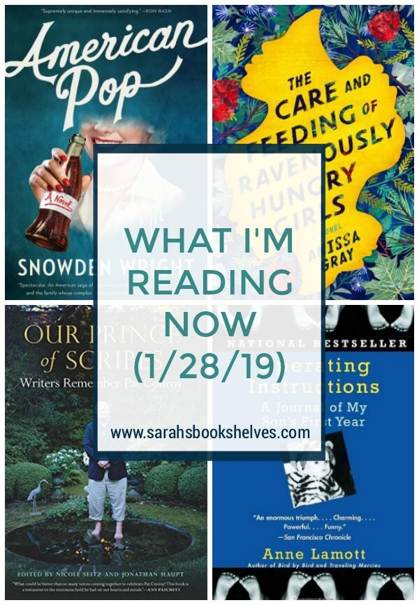 What I'm Reading Now (1/28/19): I'd deep into February books and they've been good, but not as great as I was expecting. #books #currentlyreading