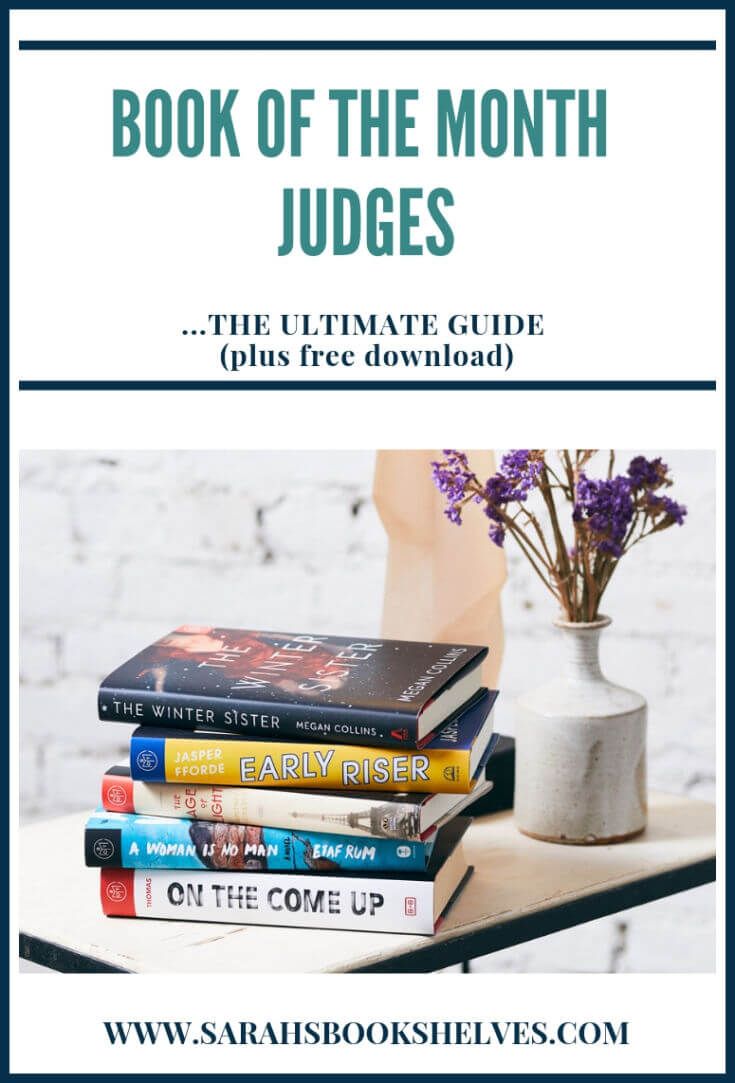 Book of the Month Judges