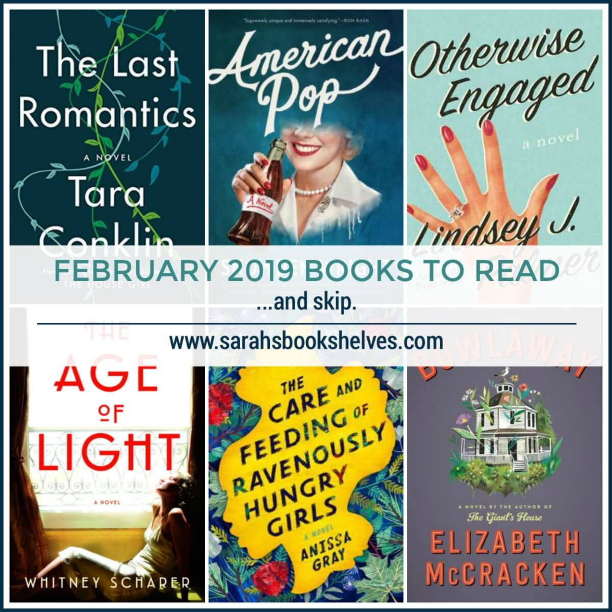 February 2019 Books to Read