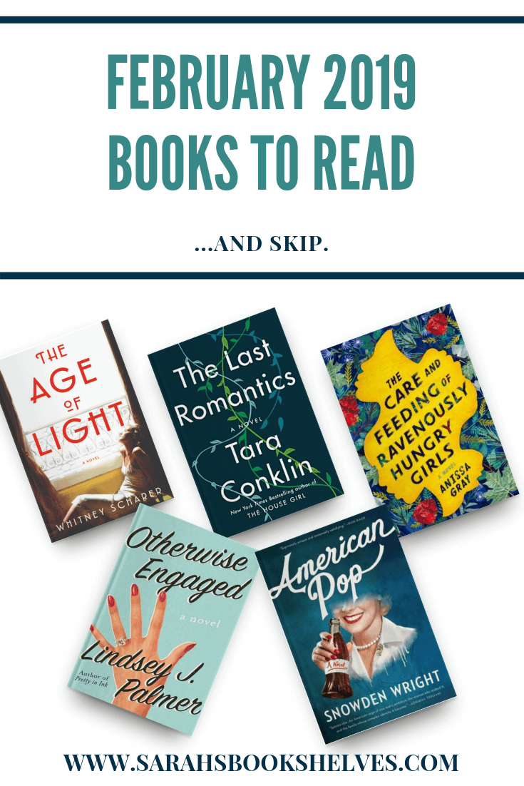 February 2019 Books to Read: I only had one February stinker, so I have lots of books to add to your reading list! It was a month of literary fiction and historical fiction...and a couple of love stories! #reading #books