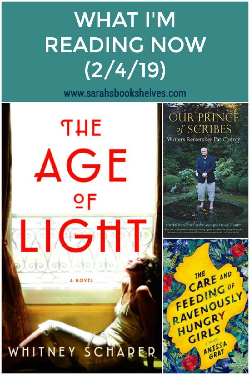What I'm Reading Now (2/4/19): I'm absolutely loving The Age of Light, a new historical fiction novel about Man Ray and Lee Miller. More books to add to your reading list! #books #currentlyreading