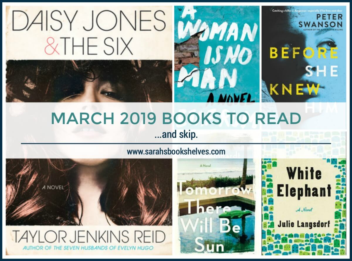 March 2019 Books to Read