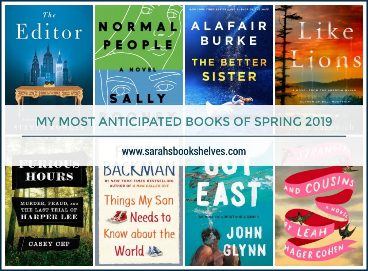 Most Anticipated Books of Spring 2019