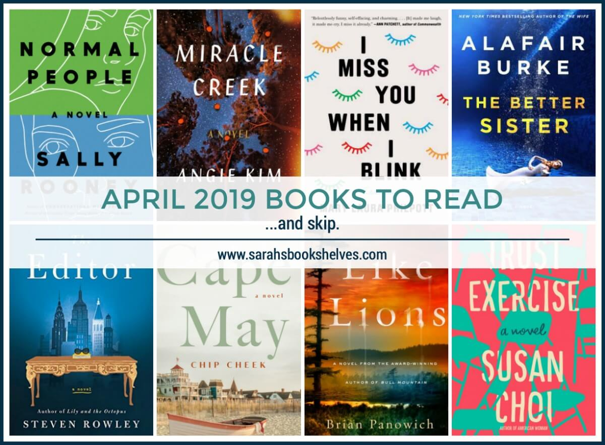 April 2019 Books to Read