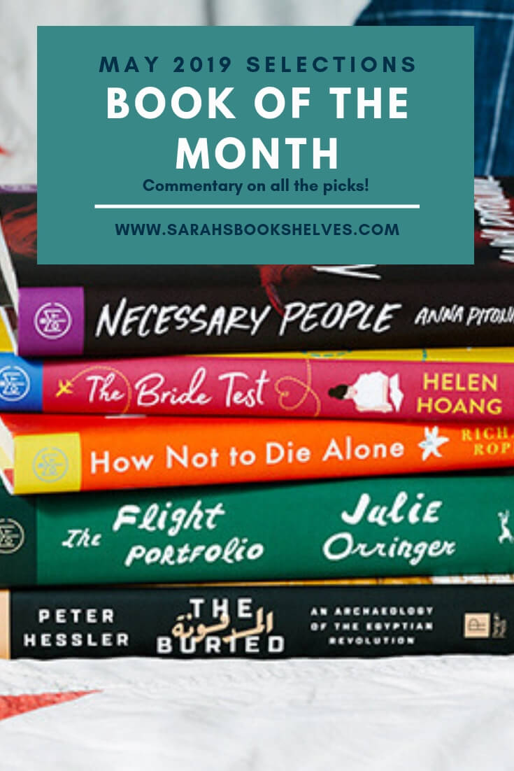 Book of the Month May 2019