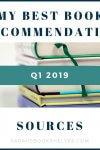 Q1 2019 Best Book Recommendation Sources