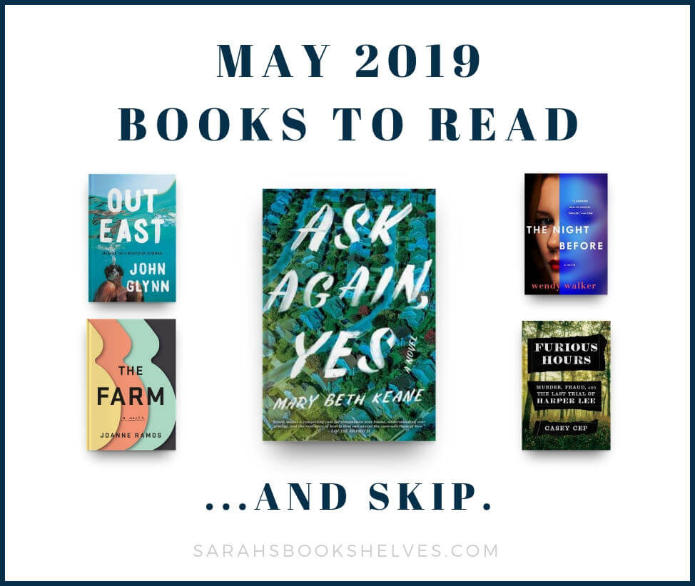 May 2019 Books to Read