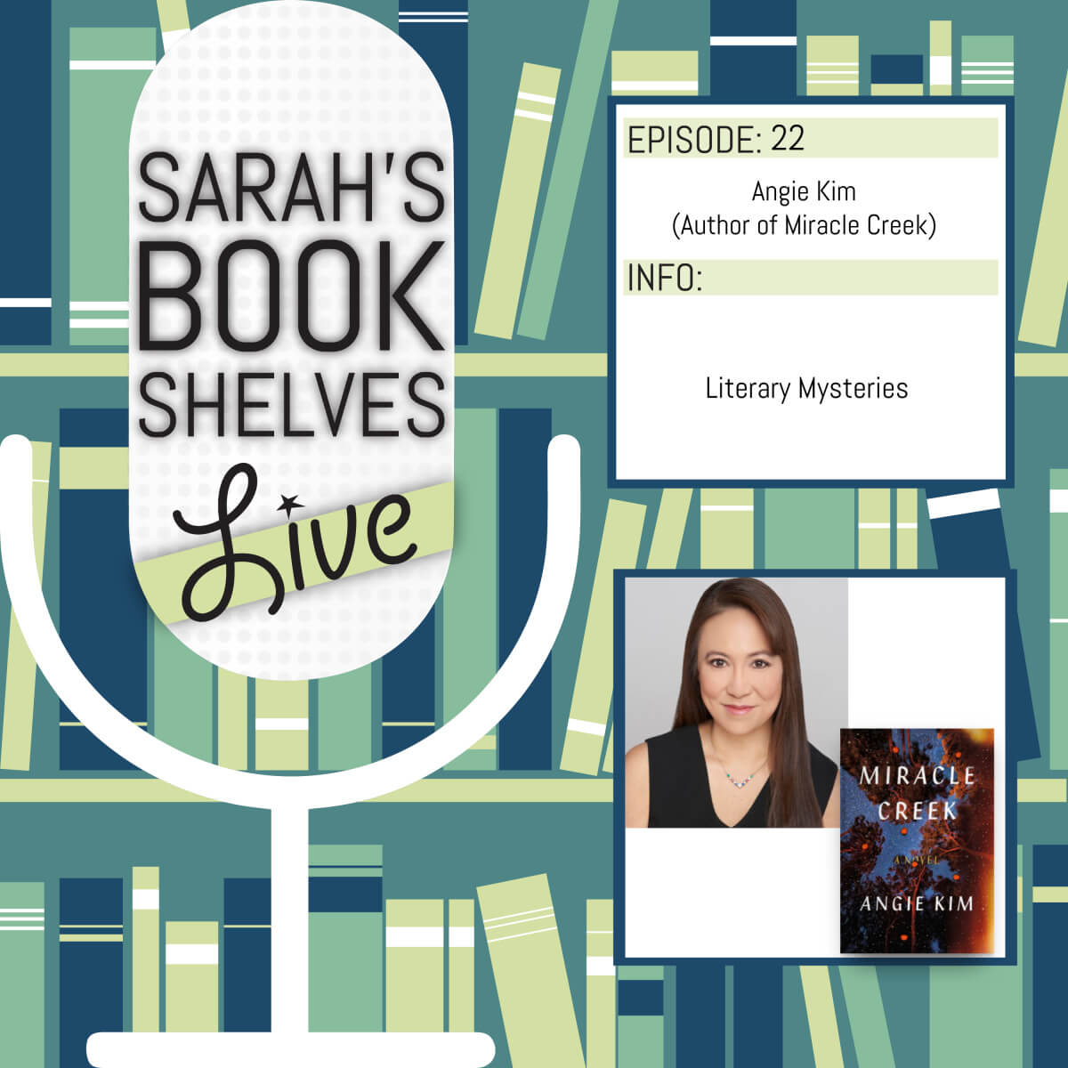 Literary mysteries with angie kim