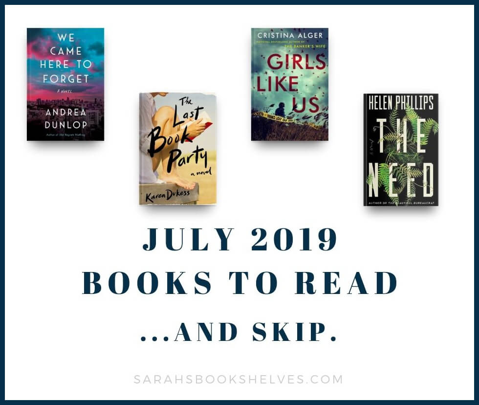 July 2019 Books to Read