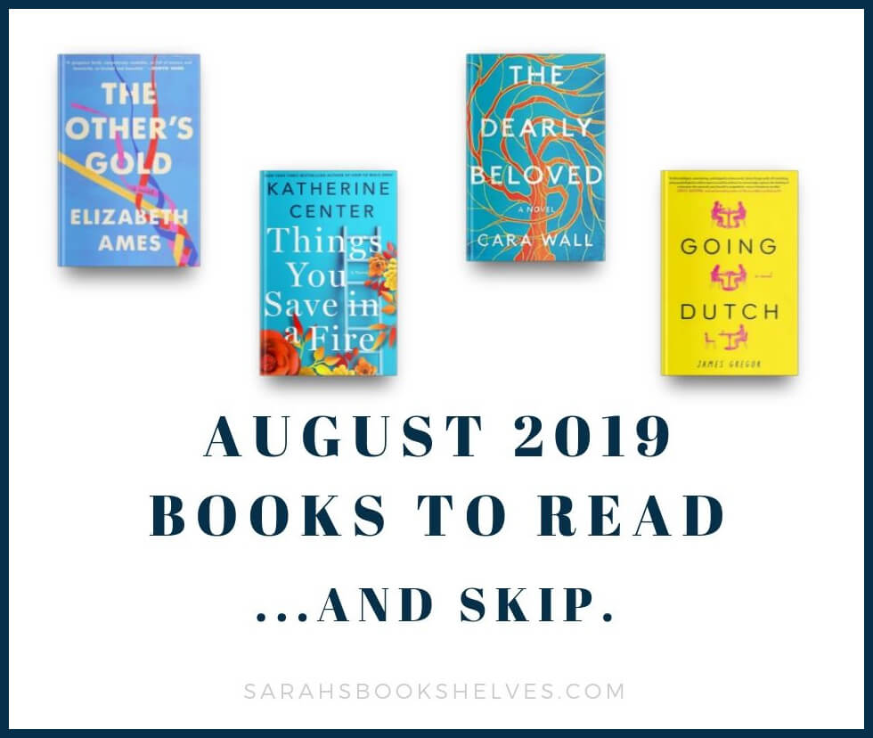 August 2019 Books to Read