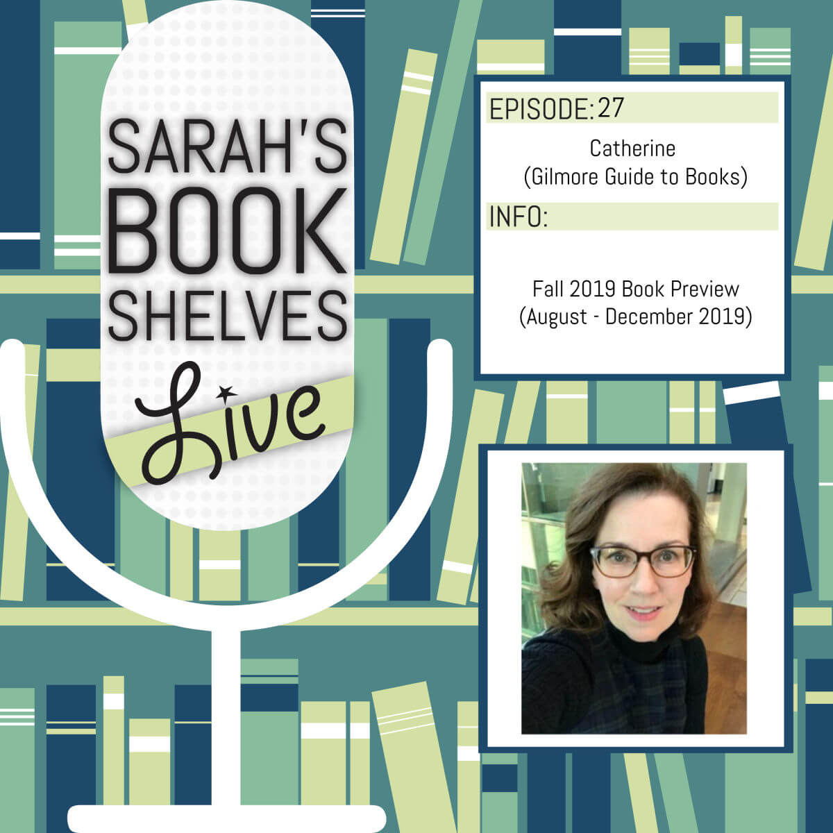 Podcast Archives - Sarah's Book Shelves