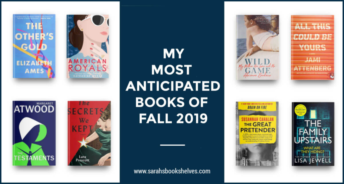 Most Anticipated Books of Fall 2019