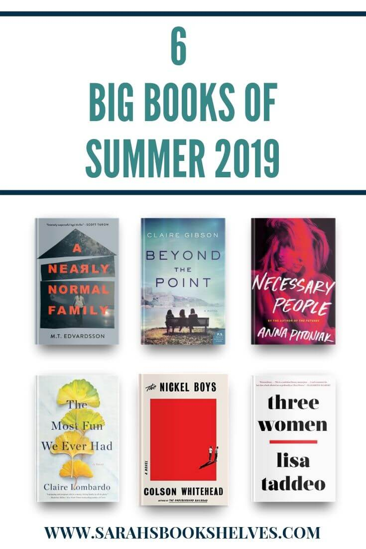 6 Big Books of Summer 2019