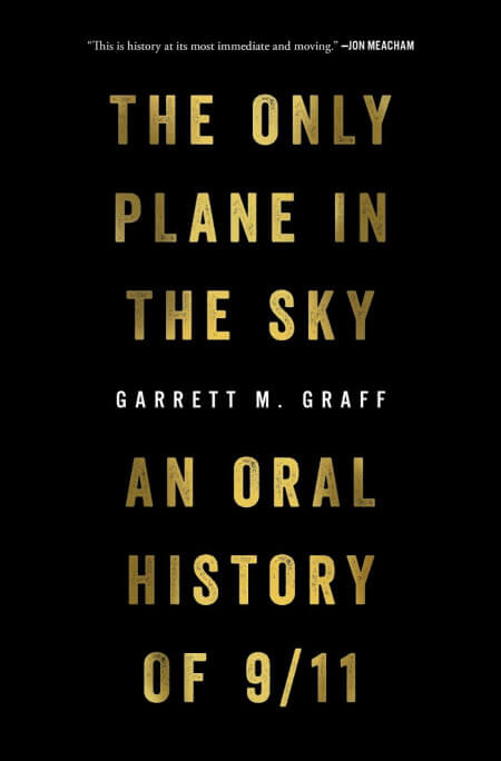Only Plane in the Sky by Garrett Graff book cover