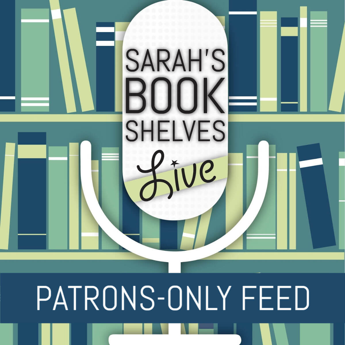 Sarah's Book Shelves Patreon