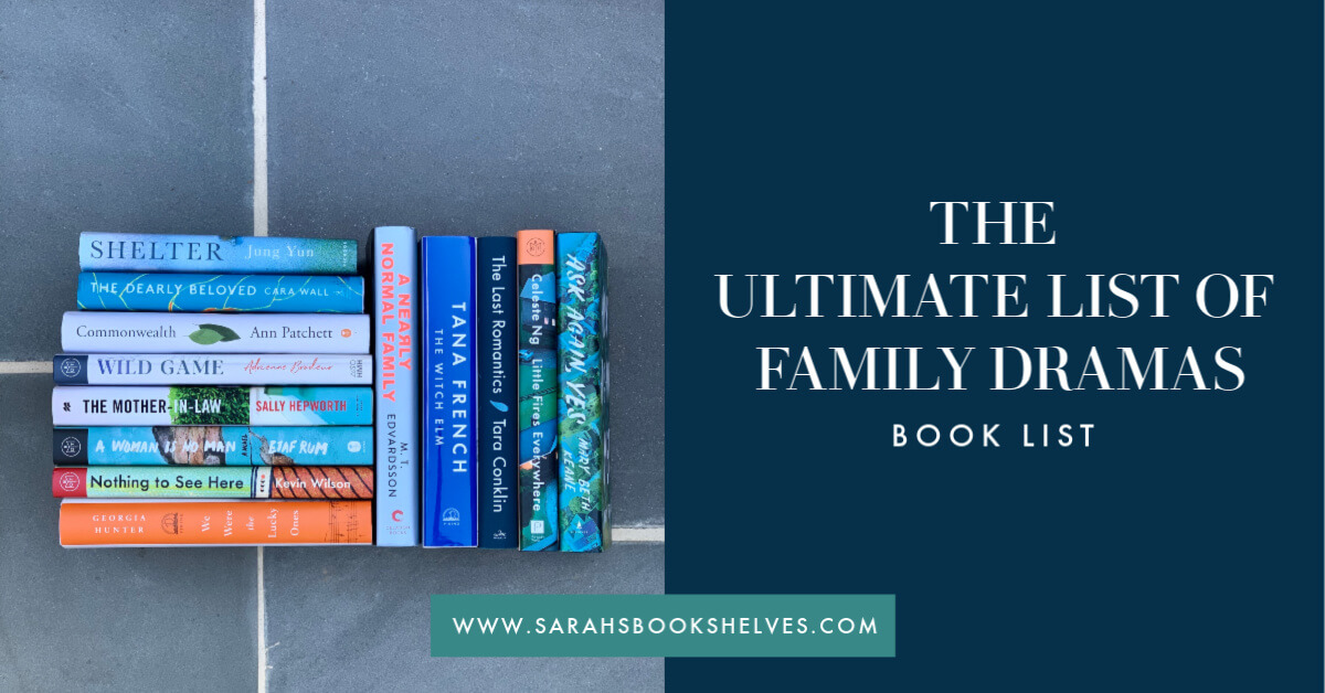 ultimate list of family drama books