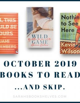 October 2019 Books to Read