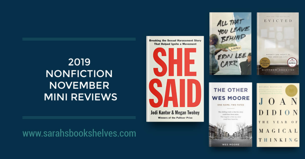 2019 Nonfiction Reviews