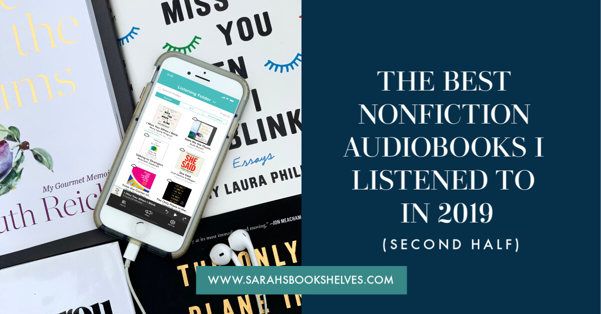 best nonfiction audiobooks I listened to in 2019