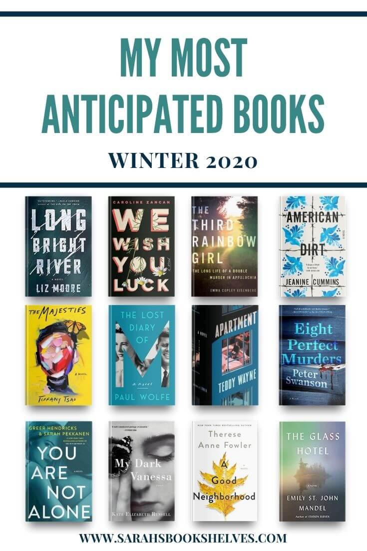 Most Anticipated Books Winter 2020