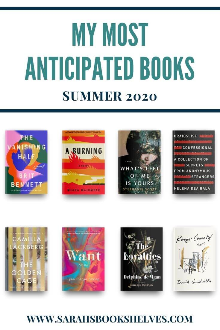 Most Anticipated Books of Summer 2020