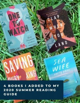 Books I Added to my 2020 Summer Reading Guide