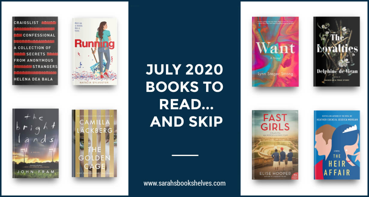 July 2020 Books to Read