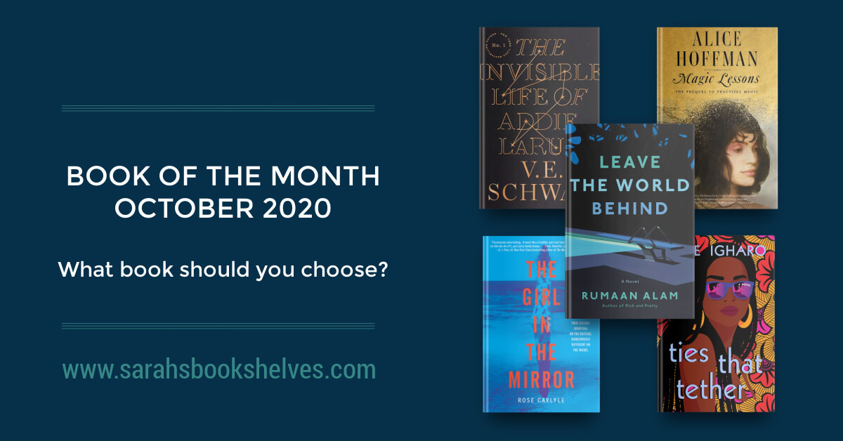 Book of the Month October 2020