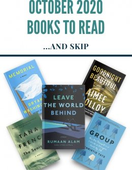 October 2020 Books to Read
