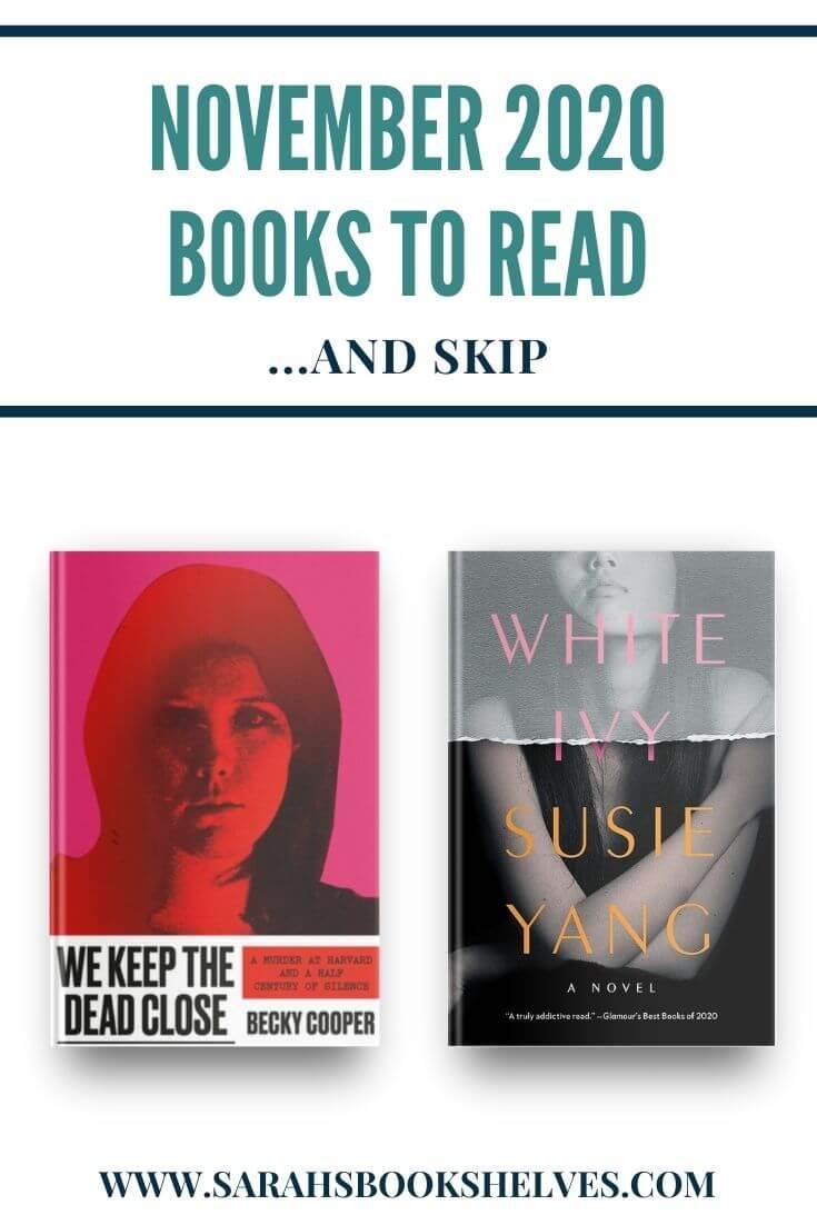 November 2020 Books to Read