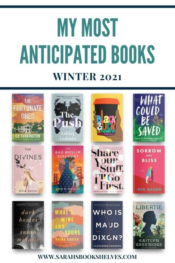 Most Anticipated Books Winter 2021
