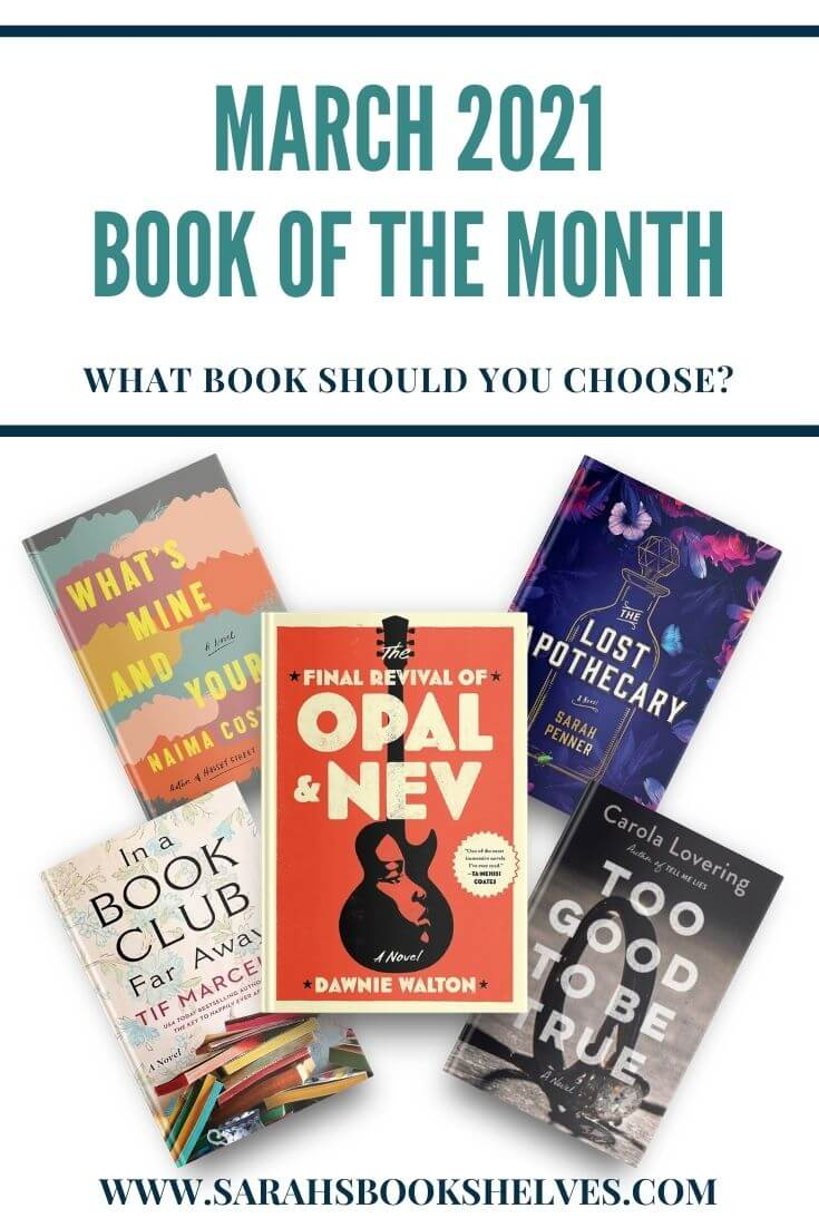 Book of the Month March 2021