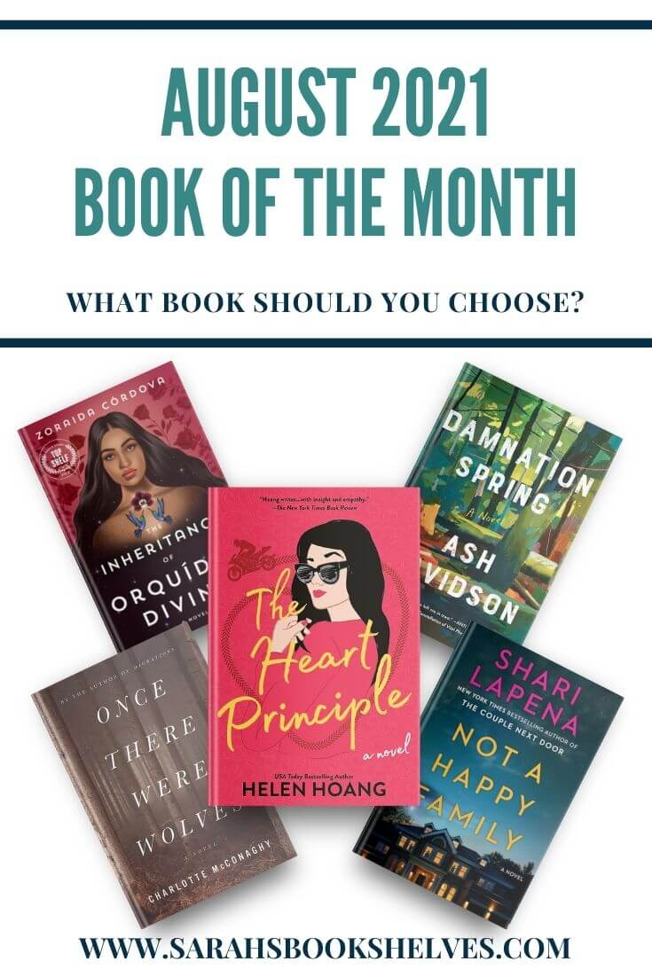 Book of the Month August 2021