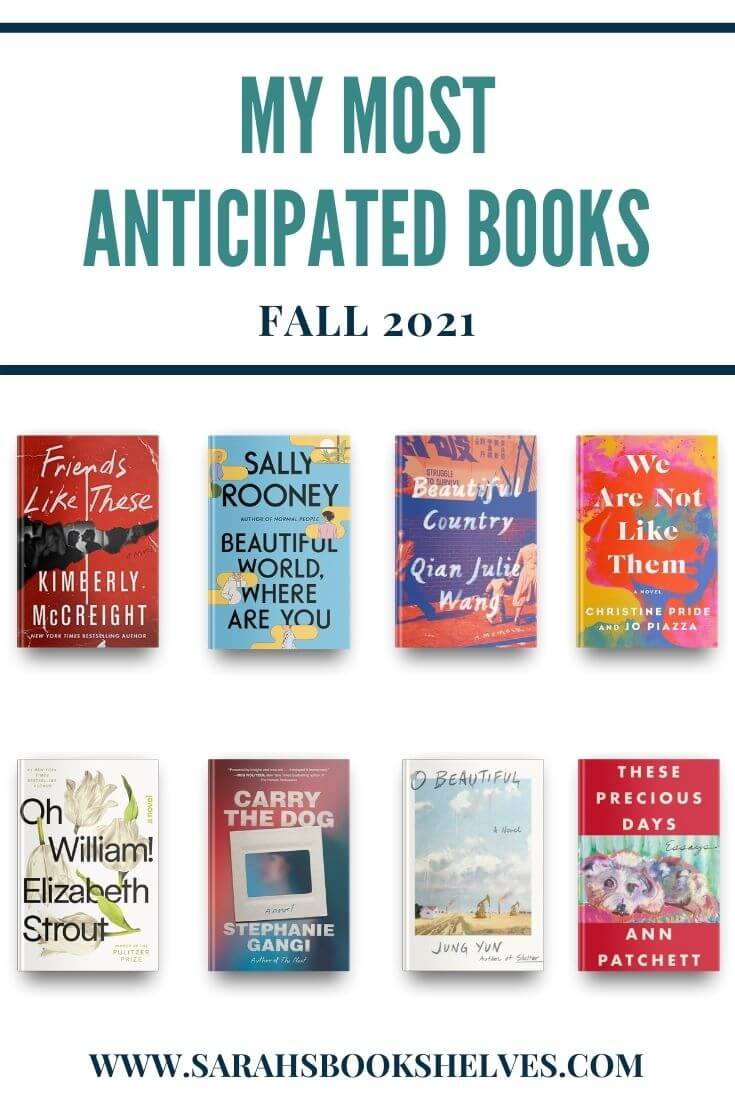 Most Anticipated Books of Fall 2021